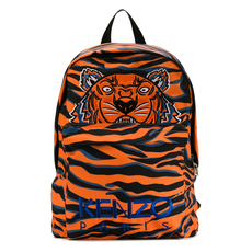 Kenzo Embroidered Tiger Backpack Arancione