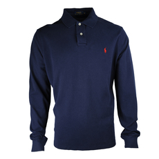 Ralph Lauren Long Sleeve Polo Tee Blue