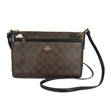 Coach Crossbody Bag Dark Brown