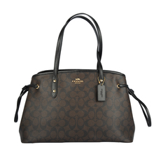 Coach Tote Bag Dark Brown