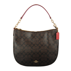 Coach Crossbody Bag Brown/Red