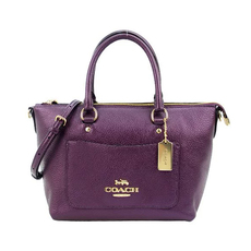 Coach Crossbody Bag Purple