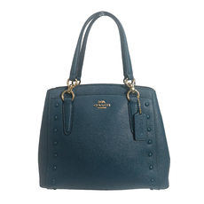 Coach Shoulder Bag Blue