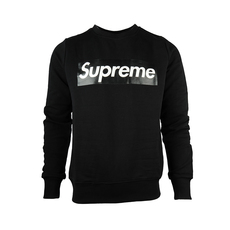 Supreme Spain Crewneck Boxlogo Sweatshirt Black