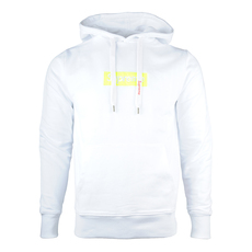 Supreme Spain Yellow Fluo Embroidered Boxlogo Hoddie White