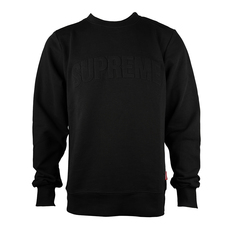 Supreme Spain 3D Logo Sweatshirt Black