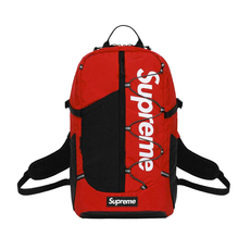 Supreme Spain Streetwear  Backpack Red