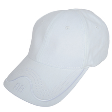 Balenciaga Classic Baseball Embroidered Logo Cap White