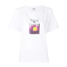 Kenzo Perfume Bottle Print T-Shirt White