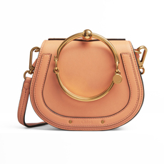 Chloe Small Nile Bracelet Shoulder Bag Canyon Sunset