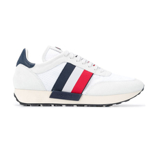 Moncler Horace Side Stripe Sneakers White
