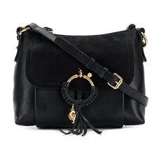 See By Chloe Small Joan Crossbody Bag Black