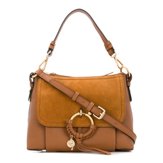 See By Chloe Small Joan Crossbody Bag Caramel
