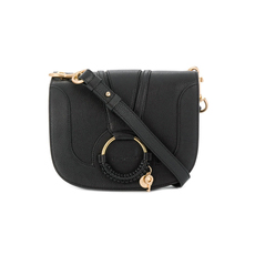 See By Chloe Medium Hana Shoulder Bag Black