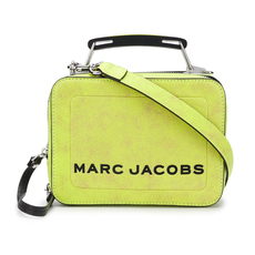 Marc Jacobs The Box Mini Shoulder Bag Yellow