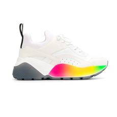 Stella Mccartney Eclypse Rainbow Women's Sneakers White