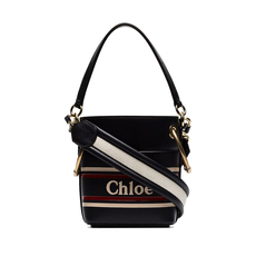 Chloe Mini Roy Bucket Bag Full Blue