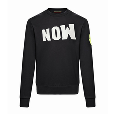 "Moncler Genius 1952 ""Now"" Patch Sweatshirt Black"