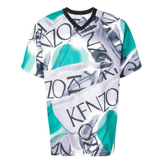Kenzo Loose-Fitting Sportswear T-Shirt Dove Grey