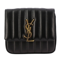 Saint Laurent Vicky Small Crossbody Bag Black