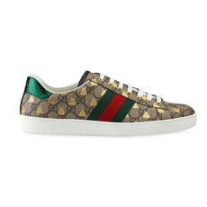 Gucci Ace Gg Supreme Bees Men's Sneakers Beige/Ebony