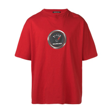 Balenciaga Speed Shrunk T-Shirt Red