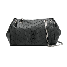 Saint Laurent Nolita Medium Shoulder Bag Black