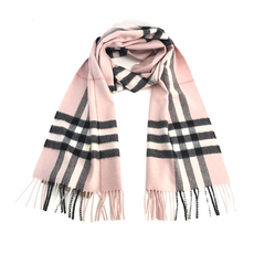 Burberry The Classic Check Scarf Ash Rose