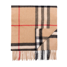 Burberry The Classic Check Scarf Camel