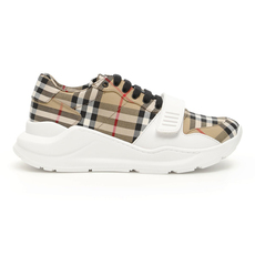 Burberry Vintage Check Women's Sneakers Antique yellow