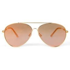 Burberry Men's Sunglasses Gold/Brown