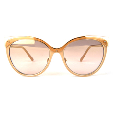 Burberry Women's Sunglasses Gold/Beige