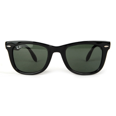Ray-Ban Folding Wayfarer Men's Sunglasses Black