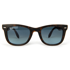 Ray-Ban Folding Wayfarer Men's Sunglasses Brown