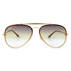 Ray-Ban Blaze Aviator Unisex Sunglasses Gold