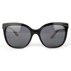 Burberry Women's Sunglasses Black/Beige