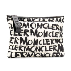 Moncler Pouch Gm Clutch Black/White