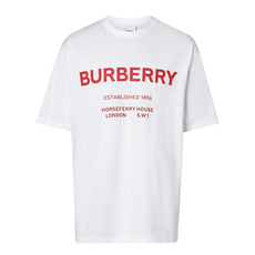 Burberry Horseferry Print T-Shirt White