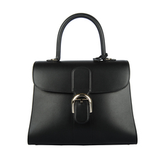 Delvaux Brillant Shoulder Bag Black