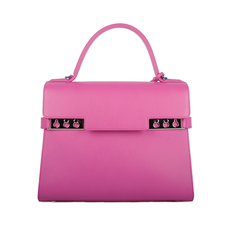 Delvaux Shoulder Bag Fuchsia