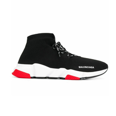 Balenciaga Speed Lace-Up Men's Sneakers Black