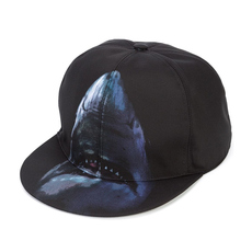 Givenchy Shark Printed Cap Black