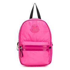 "Moncler Kids ""Petit George"" Backpack Fuchsia"