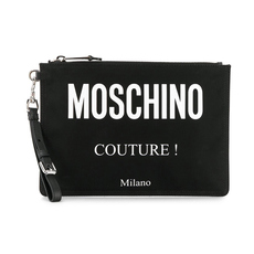 Moschino COUTURE Clutch Bag Black