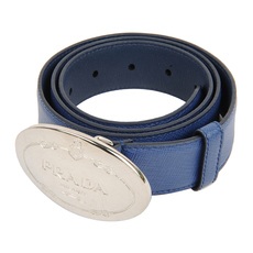 Prada Belt Navy