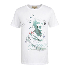 Burberry Camberley Abith Graphic T-Shirt White