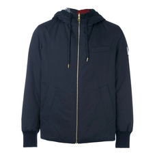 Moncler Gamme Bleu Reversible Hooded Jacket Navy