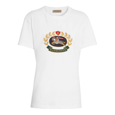 Burberry Embroidered Archive Logo T-Shirt White