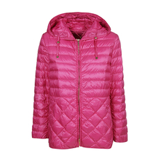 S Max Mara Ultralight Padded Down Jacket Fuchsia