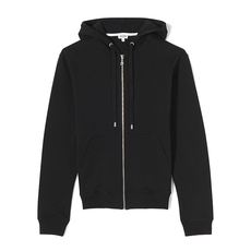 Kenzo Logo Hooded Zipper Jacket Black